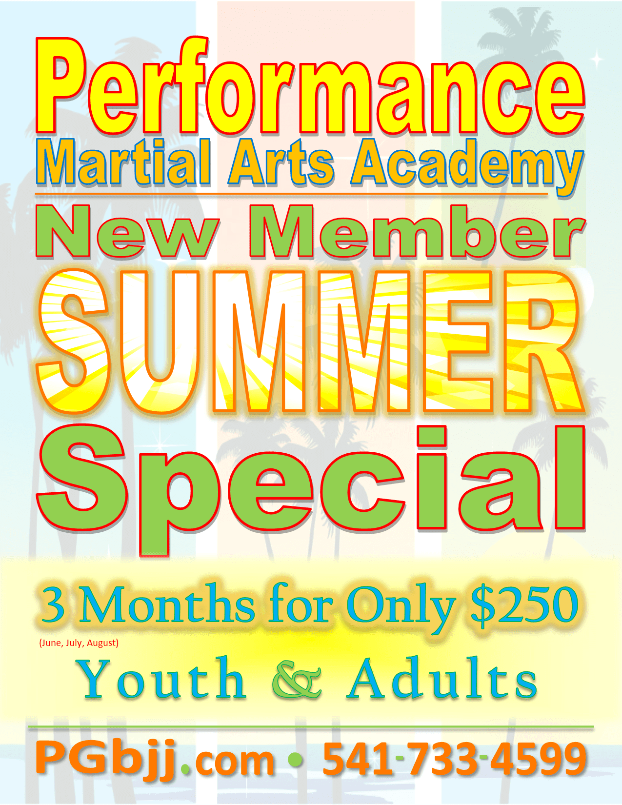 $250 Summer Special