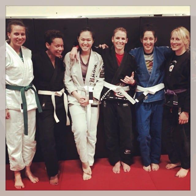 women's Brazilian Jiu Jitsu