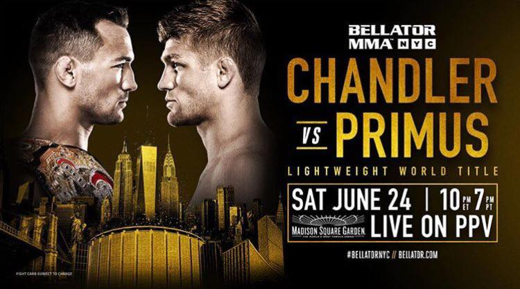 Brent Primus of Eugene Oregon to Challenge for Bellator Lightweight World Championship