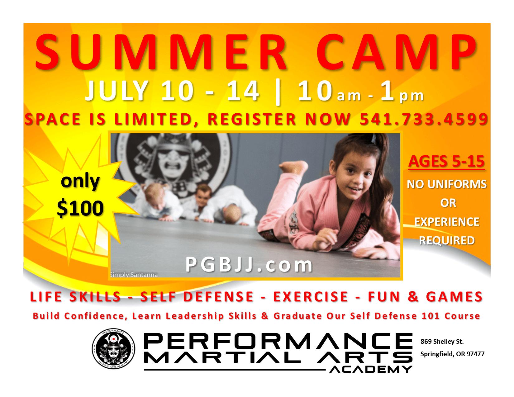 Springfield Summer Camp