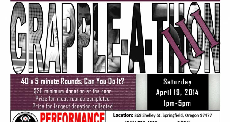 Grapple-A-Thon 3: Womenspace 4/19/2014