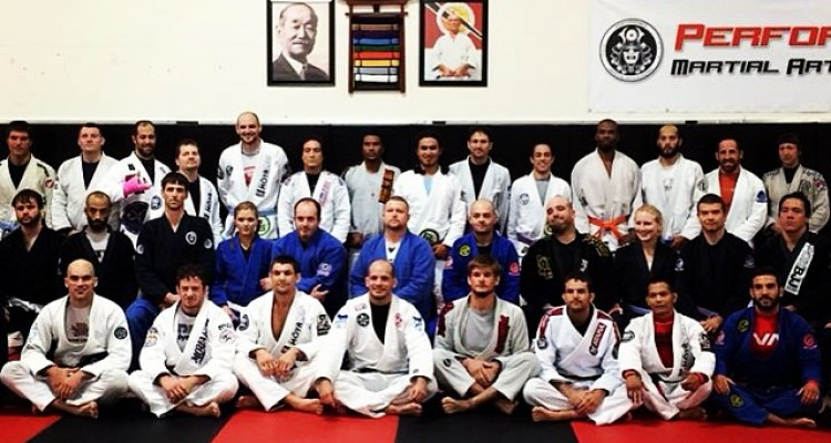 Xande Ribeiro Visits Performance Martial Arts Academy